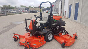 2012 Jacobsen HR-6010 Wide Area Rotary Mower - Only 600 Hrs