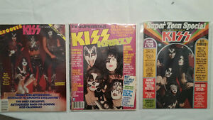 KISS magazines RARE 70's-MOVING Must sell