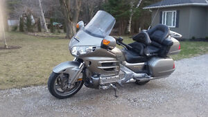 well maintained Honda GoldWing. Ready to ride.