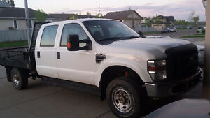 2010 Ford F-350 XL Pickup Truck with deck