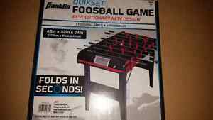 Foosball Table BRAND NEW NEVER OPENED