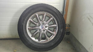 "LANVIGATOR CATCHSNOW WINTER tires with ALLOY Rims 245/65R17"" A Edmonton Edmonton Area image 4"