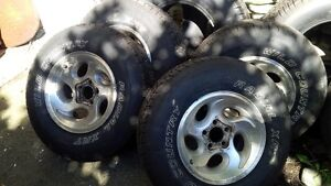 Ford Ranger or Mazda  235 75 15  Tires and 15' Rims