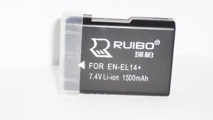Brand New EN-EL14 Li-ion Battery For Nikon
