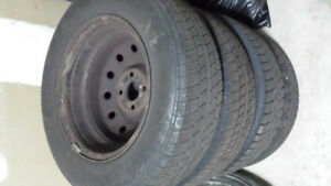 185/70/14 Tires with Rims, good condition