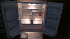 """excellent 36"""" width fridge with ice maker"""