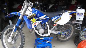 2003 yz 125 with a Athena 144 cc big bore kit