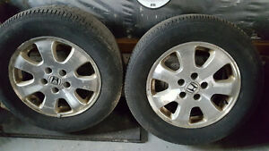 4 Rims and 4 tires for Honda Odyssey
