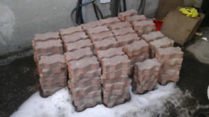 Used interlock bricks