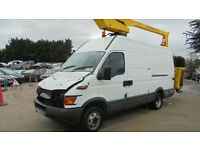 IVECO DAILY C CLASS 2.8TD LWB CHERRY PICKER DAMAGED REPAIRABLE SALVAGE