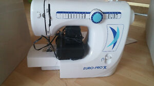 Euro Pro X sewing machine ( great condition)