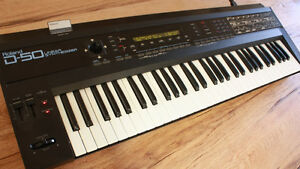 ROLLAND D-50 SYNTH Mid 80's