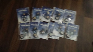 Toronto maple leafs collectable mini pucks