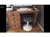 Corona Pine Desk / Dressing Table