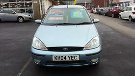 2004 FORD FOCUS 1.6 Zetec Automatic 5 Door From GBP1,695 + Retail Package
