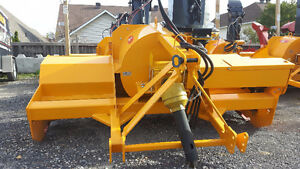 "Artix 92"" Inverted Industrial Snowblower No snow in the street"