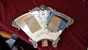 Victorian Picture frame mirror and silver. Kitchener / Waterloo Kitchener Area image 3