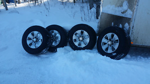 Winter tires and with rims