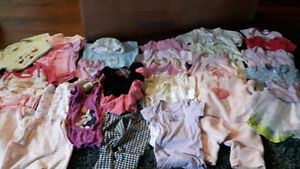 Lot of clothing.