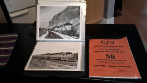 VINTAGE RAILROAD MEMORABILIA  CNR, CPR,  Grand  Trunk London Ontario image 2