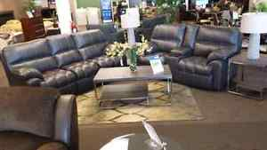 Liberty Leather Couch And Loveseat