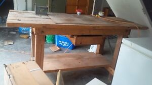 Solid+ Solid Wood work bench for sale