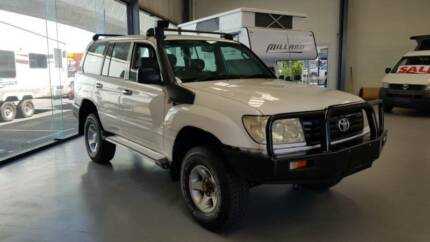 2006 Toyota LandCruiser 100 Series Diesel 1HZ Gilles Plains Port Adelaide Area Preview
