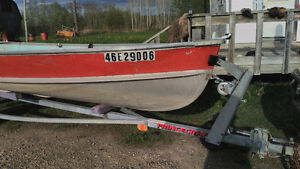 Boat, Trailer, and Motor for sale
