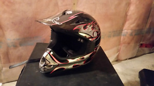 Brand new never used Alanca Dirt bike helmet