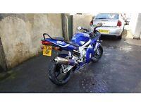 Yamaha r6 long mot clean bike £1800