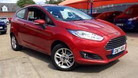 2017 Ford Fiesta 1.0 EcoBoost Zetec 3dr Manual Petrol Hatchback