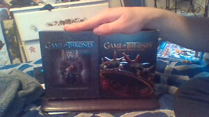 GAME OF THRONES SEASON 1 AND 2 BLURAY FOR SALE ASAP