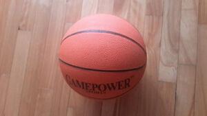 Ballon de Basketball intérieur extérieur / Orange / Neuf
