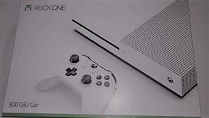 Brand New/Open Box Xbox One S 1TB Console-White