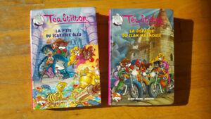 2 livres de Téa Stilton
