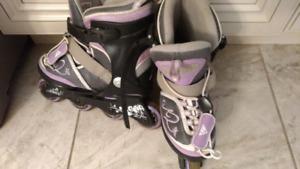 K2 Girls Rollerblades - Adjustable Sizes 1 to 5