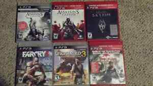 Various ps3 games excellent condition