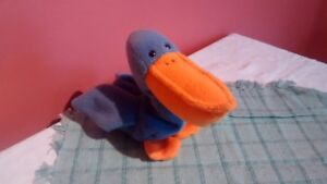 Stuffed toy - Beanie Baby Scoop the Pelican
