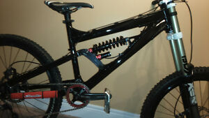 Devinci Wilson DH Bike Frame - Marzocchi ROCO and some parts
