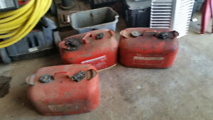 Out board fuel tanks
