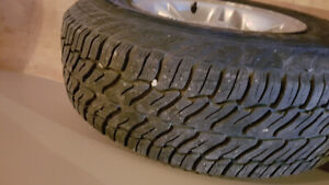 Dodge Dakota rims and tires for sale
