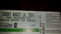 MIS Nascar Race 4 tickets and camping -  August 16, 2015