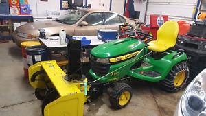 540X John Deere garden tractor Open to trades