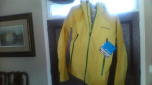 NEW with tags Columbia Omni Heat jacket.