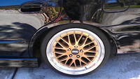 """19"""" STAGGERED BBS LM GOLD WHEELS FOR BMW 3 SERIES"""