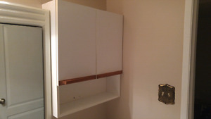 White wall cupboard
