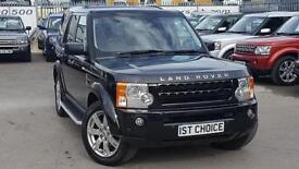 2009 LAND ROVER DISCOVERY 3 TDV6 HSE FITTED WITH BLACK LED REAR LIGHTS BLACK D