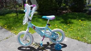 "Frozen 8"" rim toddler bike"
