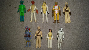 vintage Star Wars collectibles from 1977 year the movie came out London Ontario image 6