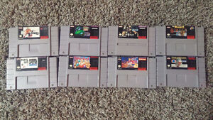 SNES NES Wii and PS2 games for sale